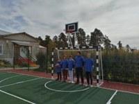 Открытие многофункциональной площадки в Демаринской школе