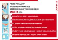 Памятка гражданам о профилактике коронавирусной инфекции